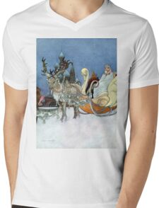 "From Oscar-Wilde's ""The Happy Prince"" by C. Robinson Mens V-Neck T-Shirt"
