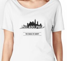 The City Of Philadelphia Women's Relaxed Fit T-Shirt