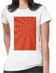 Orange Navel Womens Fitted T-Shirt