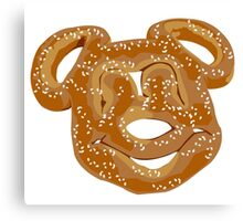 Mickey Pretzel Canvas Print
