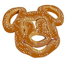 Mickey Pretzel Photographic Print