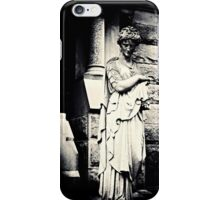 Black and White - ford statue, Allegheny (2010) iPhone Case/Skin
