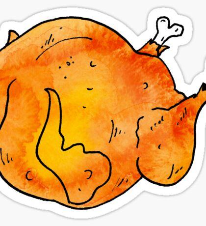 Turkey day Sticker