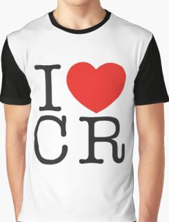 I <3 CRITICAL ROLE (CR) - Black Graphic T-Shirt