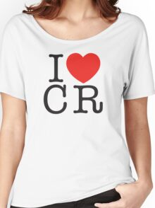 I <3 CRITICAL ROLE (CR) - Black Women's Relaxed Fit T-Shirt