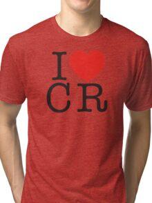 I <3 CRITICAL ROLE (CR) - Black Tri-blend T-Shirt