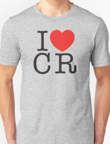 I <3 CRITICAL ROLE (CR) - Black Unisex T-Shirt