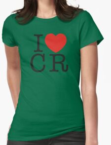 I <3 CRITICAL ROLE (CR) - Black Womens Fitted T-Shirt