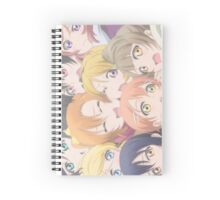 squished µ's Spiral Notebook