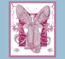 Madame Butterfly Pink (2007) Kids Tee