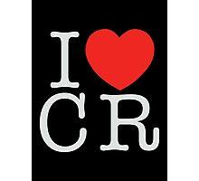 I <3 CRITICAL ROLE (CR) - White Photographic Print