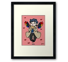 Castiel - Dean Made This Framed Print