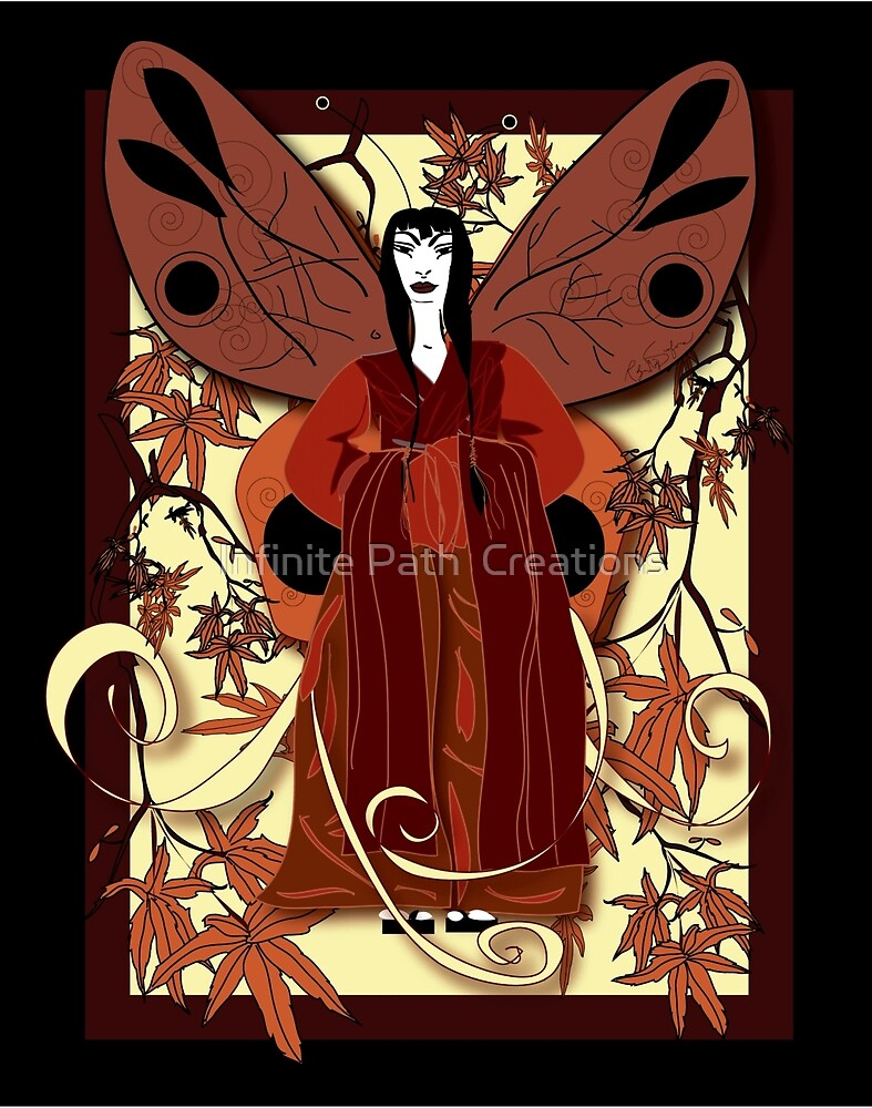 Madame Butterfly 1 by Infinite Path  Creations