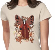 Madame Butterfly 1 Womens Fitted T-Shirt