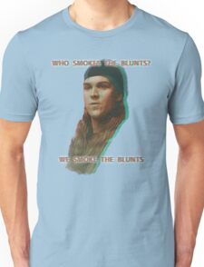 Who Smokes The Blunts? T-Shirt