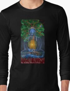 The Buddha Dreams a Tree Long Sleeve T-Shirt