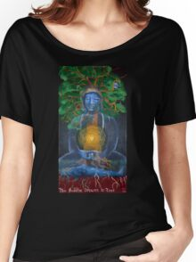 The Buddha Dreams a Tree Women's Relaxed Fit T-Shirt