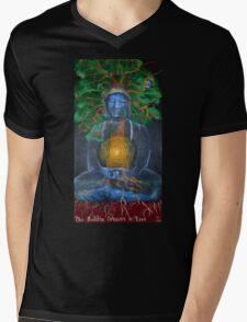 The Buddha Dreams a Tree Mens V-Neck T-Shirt