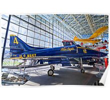 US Navy Blue Angel Poster