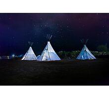 Camping El Cosmico, Marfa, United States Photographic Print
