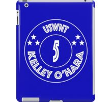 USWNT Kelley O'Hara in white/blue iPad Case/Skin