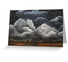 Desert Clouds Greeting Card