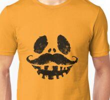 Jack-o-lantern with mustache Unisex T-Shirt