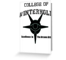 College of Winterhold Greeting Card