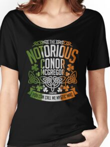Conor McGregor Crest [TRICOL] Women's Relaxed Fit T-Shirt