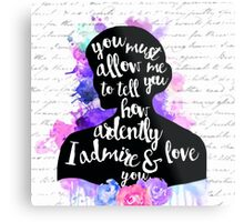Pride and Prejudice | Watercolor Design Metal Print