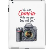 The Best Camera iPad Case/Skin