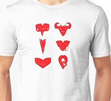 Different emotions of love Unisex T-Shirt