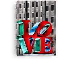 Love from Philly Canvas Print