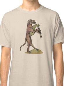 Catpipes / Dog playing cat bagpipes Classic T-Shirt