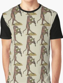 Catpipes / Dog playing cat bagpipes Graphic T-Shirt