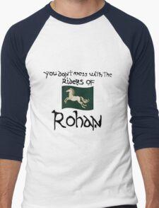 You Don't Mess With Rohan Men's Baseball ¾ T-Shirt