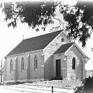 Little BLUE CHURCH Grenfell by julie anne  grattan