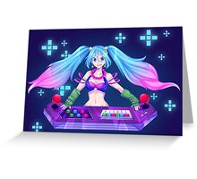 Arcade Sona - League of Legends  Greeting Card