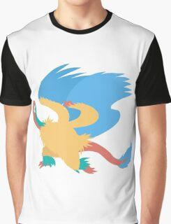 Pokemon Sticker: Archeops Graphic T-Shirt