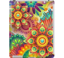 Psychedelic Flower Design iPad Case/Skin