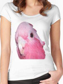 Australian Galah (short sleeve T-shirt) Women's Fitted Scoop T-Shirt