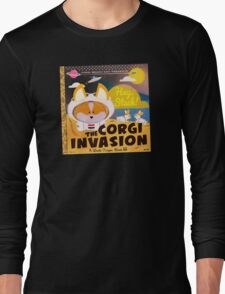 Corgi Invasion - Oregon Beach Day Long Sleeve T-Shirt