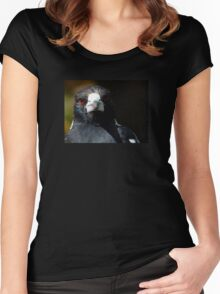 Magpie Stare Women's Fitted Scoop T-Shirt