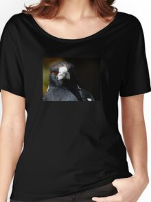 Magpie Stare Women's Relaxed Fit T-Shirt