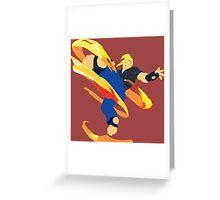 Ken SFV 2 Greeting Card
