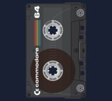Commodore 64 Cassette Tape One Piece - Long Sleeve