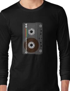 Commodore 64 Cassette Tape Long Sleeve T-Shirt