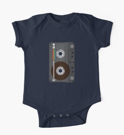 Commodore 64 Cassette Tape One Piece - Short Sleeve