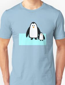 Cute Mom & Baby Penguin T-Shirt