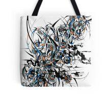 [ Geometry Flow ] Prison of mind Tote Bag